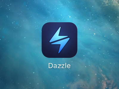 Dazzle App Icon app icon mobile ios web browser dazzle