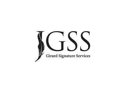 GSS branding logo illustration icon graphics elegant design creative concept brand