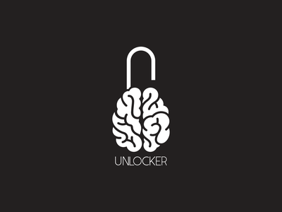 UNLOCKER modern logotype graphicdesign creative logo graphic design illustration branding logo graphics elegant design creative concept brand