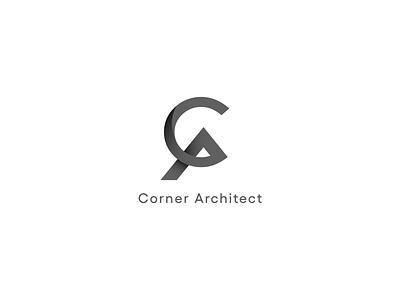 Corner Architect brand identity identity creative logo creative design logo design modern design modern logo modern graphic design branding logo illustration graphics elegant design creative concept brand
