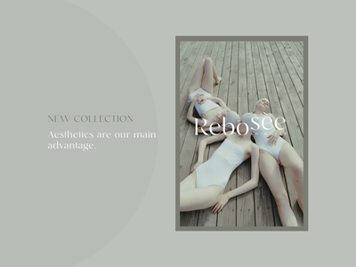Rebosee branding illustration logo graphics elegant design creative concept brand