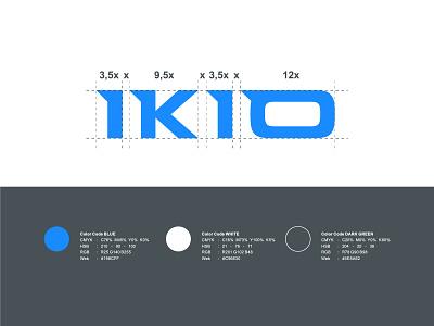 IKIO Group branding illustration logo graphics elegant design creative concept brand