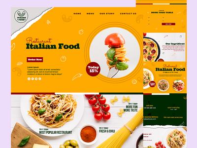Restaurant Website Design restaurant web development outsource2bd wordpress web design web design