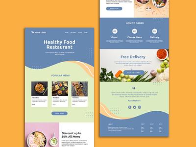 WordPress Restaurant & Cafe Web Design and Development design illustration webdesign ui outsource2bd web development wordpress website restaurant website web design
