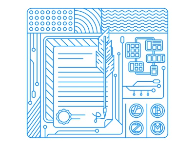 Axis Labs blu illustration agency design graphic design