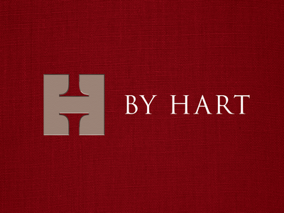 Lestaret Hart typography logo vector design