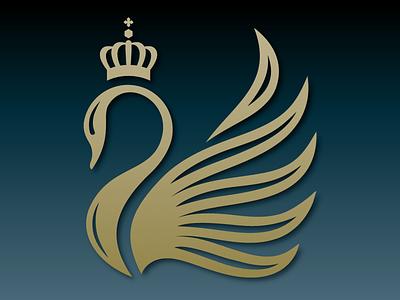 Swan Logo branding illustration vector design