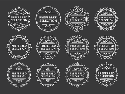 Supermarket Preferred Logo development vector design