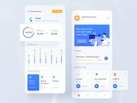 Online learning mobile app
