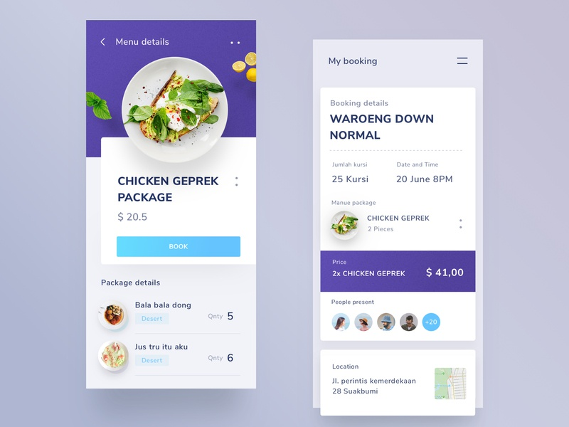 Cafe booking app menu ui typography onboarding design profile chart branding isometric illustrations landing page mobile ios clean food app illustration android dashboard website