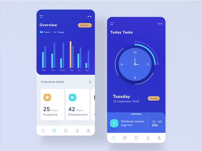 Productivity Mobile App