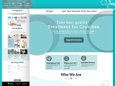 HEALTHCARE - Health and Medical dating app design logo illustration website graphic design ui