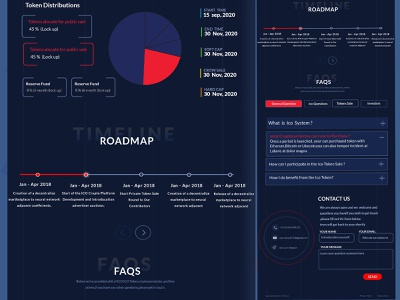 ICO- Crypto :- bitcoin & Cryptocurrency Landing page cryptotoken cryptoexchange cryptotrading cryptocurrencynews currency ui crypto cryptocurrencies cryptocurrency.