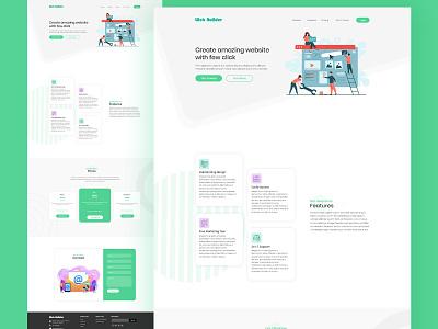 Portal - Landing Page Design Concept startup brand socialmedia digital marketing branding graphic design marketing design