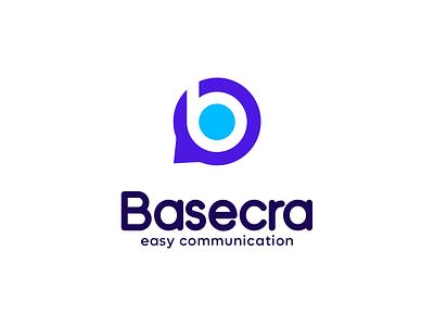 B modern letter logo design | B logo concept | Basecra logo messaging modern logo logo design b symbol b mark b letter b logo design b logo letter mark letter logo vector minimal logo logo typography design branding