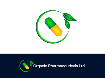 Medical & Pharmaceuticals logo print startup brand identity graphic design branding gradient simple abstract illustration icon app nature organic healthcare logo pharmaceuticals logo medical logo medicine logo pharmacy logo pharmacy logo
