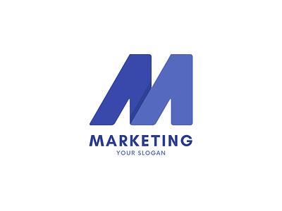 Modern M letter logo | Marketing logo modern logo modern o p q r s t u v w x y z a c d e f g h i j k l m n logotype marketing m lettermark letter logo design letter logo m letter logo m letter m logo typography design logo branding