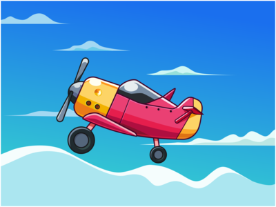 Aircraft please stay at home gimscape small yellow pink day sky cloud illustration inkscape aircraft