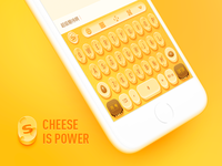 Cheese Keyboard