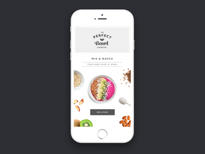 The perfect bowl order healthy nuts ui sketch bowl fruit app design app superfood