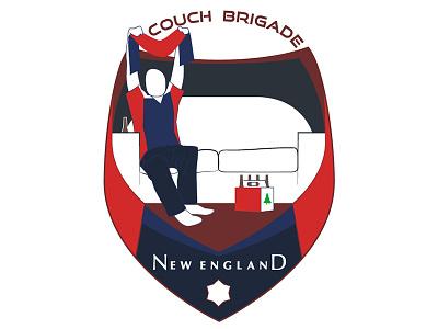 Couch Brigade soccer crest logo