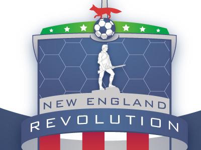 Revolution Rebrand soccer branding logo