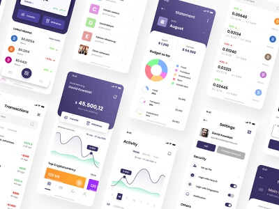 Crypto Wallet iOS App Design payment app banking wallet wallet design template creative design crypto exchange trading app ios app ios apps wallet app design crypto wallet app transaction app user interface ui cryptocurrency finance app banking app wallet ui wallet app crypto wallet
