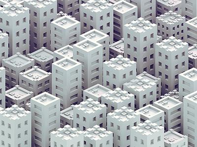 Buildings isometric illustration isometric icons isometric illustration motion animation 3d building