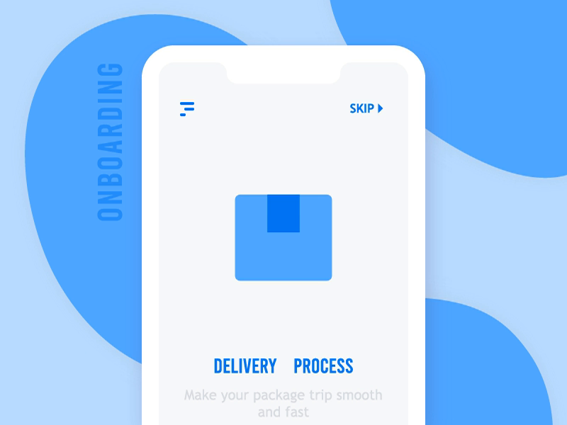 Delivery icon phone