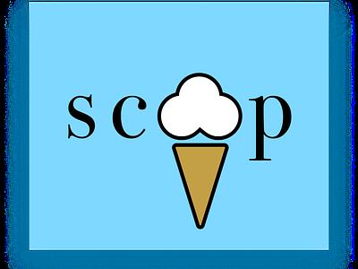 SCOOP illustration icon app design desroches desrochesdesigns mobile design branding 3d logo animation motion graphics graphic design ui