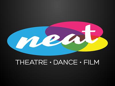 NEAT Rebrand logo brand rebrand theatre dance film performance arts performance arts aberdeen spotlight