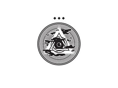 Pyramid Eye thirdeye badge pyramid illustration eye