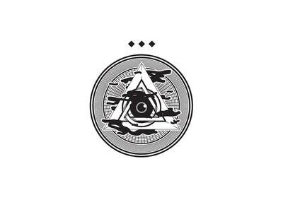 Pyramid Eye thirdeye badge pyramid illustration eye
