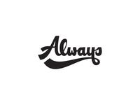 Always lettering
