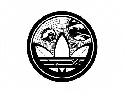 ADIDAS X SOBER5083R sticker sobersober geometry illustration design symbol adidas originals adidas badge design badge logo badge sticker