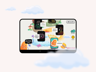 Volar App / Screens colors ui ux illustrations experience fun characters app illustration user interface user experience digital art direction design