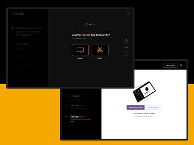 Culqi Website - Mini test website responsive mobile user experience app branding user interface design digital inspiration ux ui art direction