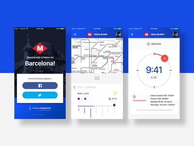 Barcelona Metro App
