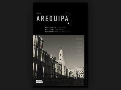 Unknown Places 001 // Arequipa