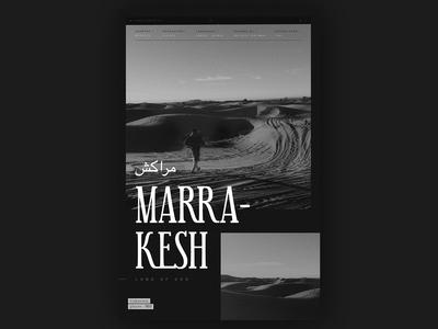 Unknown Places 003 // Marrakesh