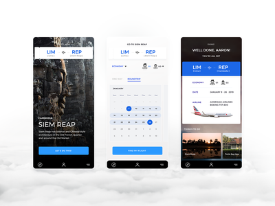 Booking App UI design travel app app dribbble user experience user interface ux ui digital art direction inspiration design