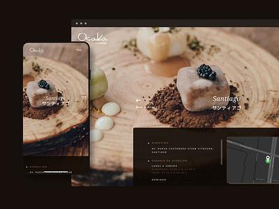 Osaka Nikkei Restaurant Website peruvian peru osaka food user experience ux branding ui digital art direction inspiration design