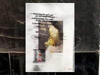 The WEIRD&RANDOM posters // V002