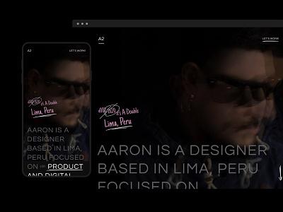 My new website UI Design about webdesign website ux ui portfolio design portfolio