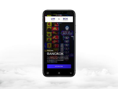 Booking App UI design animation ios app app travel app travel user interface user experience ux ui digital art direction design
