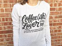 Coffee(ish) shirt design