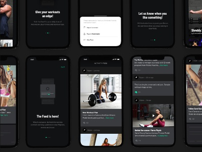 Fitplan Update - We Launched The Feed design stream activity feed app