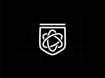 SS Icon typography design illustration badge logo simple icon