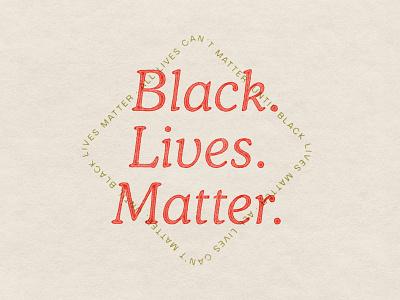 BLM ethnicity race blacklivesmatter badge cooper typogaphy
