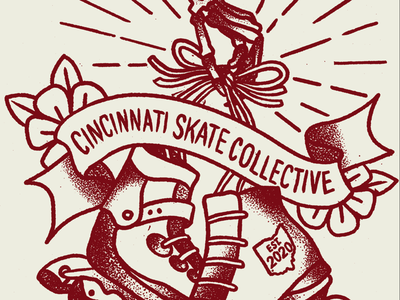 Skate Collective Detail traditional tattoos illustration